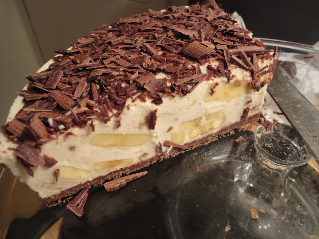 Kuchen mit banane und quark